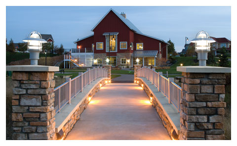 Community Center at Night thumbnail