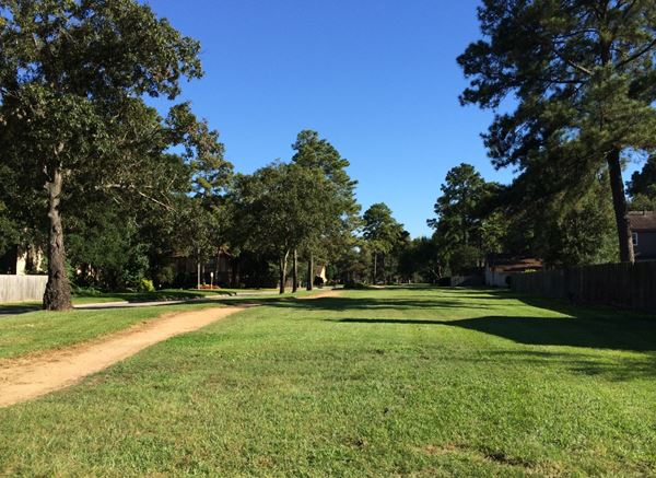 Ella Walking Trail: Our walking trail along Ella Blvd. is nearly a mile in length, featuring a crushed granite path that makes its way through shade trees, maintained turfs and landscaping accents. thumbnail