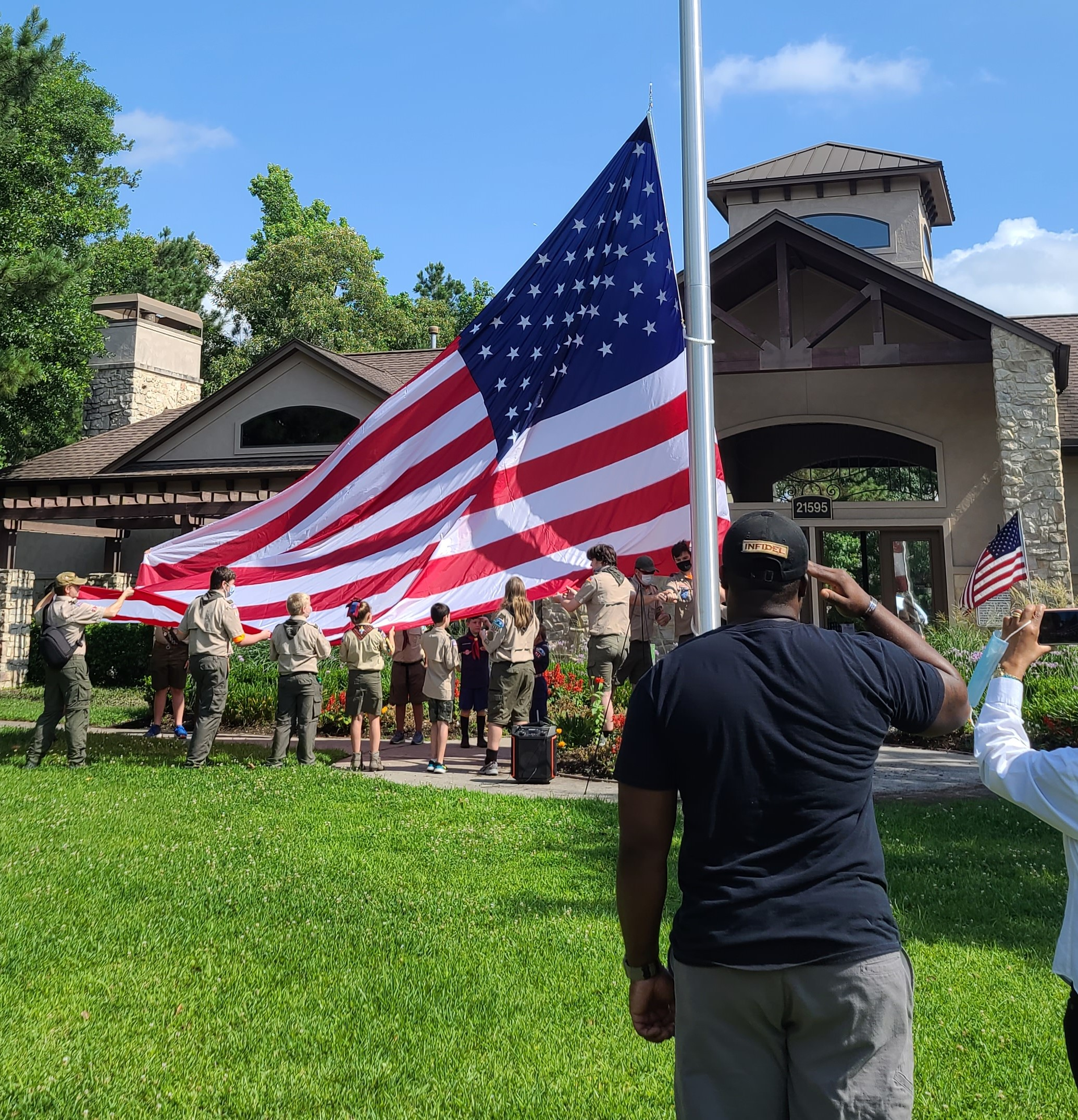 Memorial Day 2021 Fallen Heroes Flag Pole Dedication Ceremony - May 31, 2021 thumbnail